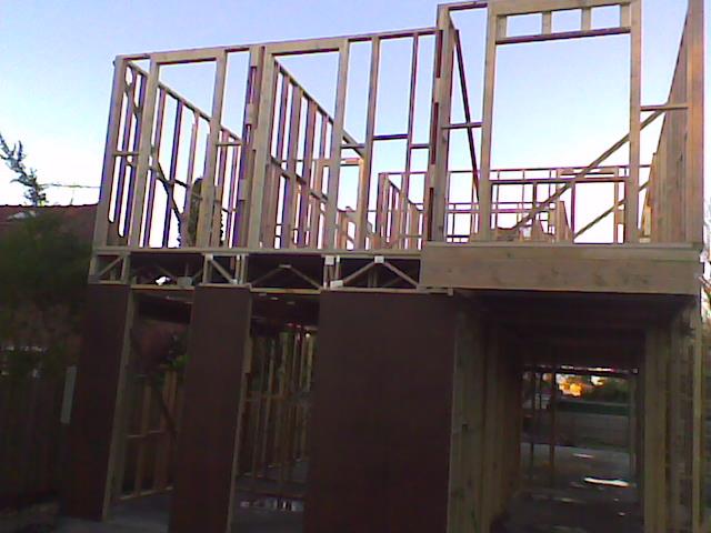 2 storey frame