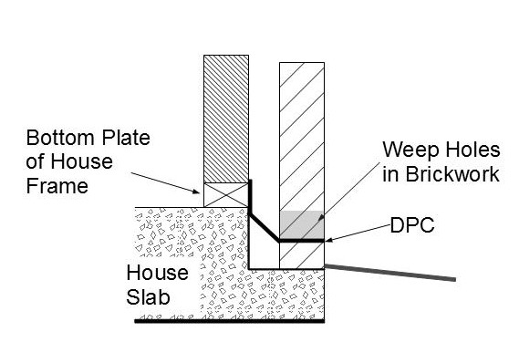 DPC Brick Veneer