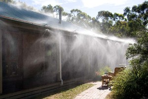Bushfire spray