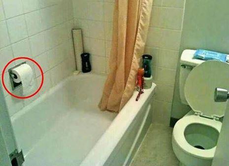 Toilet Roll Fail